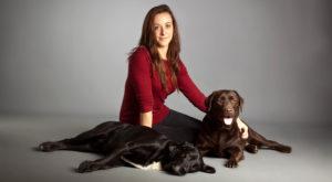 La propriétaire de la pension entre chiens et moi 24